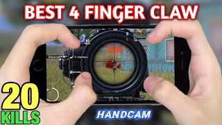 BEST 4 FINGER CLAW GYROSCOPE PUBG | IPhone 8 | PUBG MOBILE