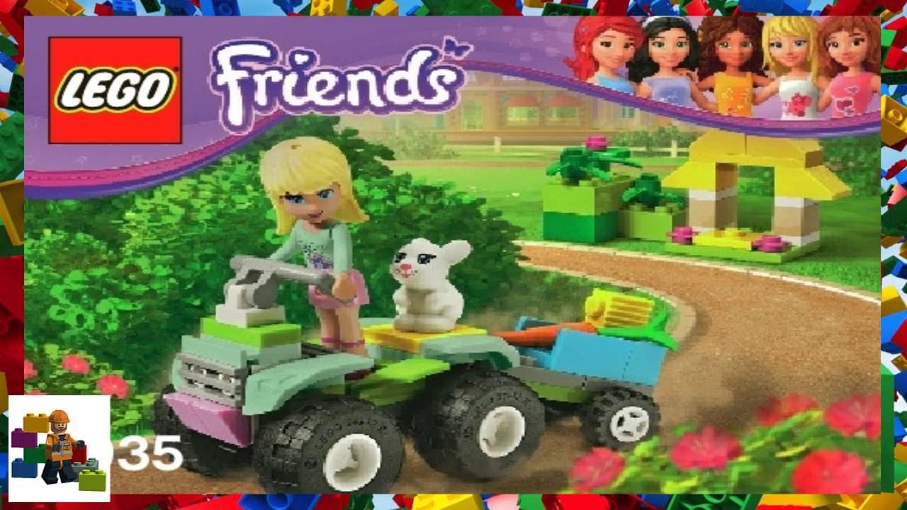 Lego Instructions Lego Friends 3935 Stephanies Pet Patrol Youtube