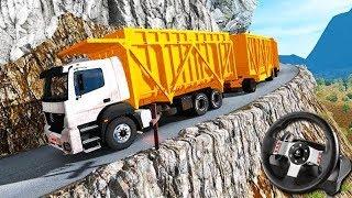 AS ESTRADAS MAIS PERIGOSAS do MUNDO!!! - Euro Truck Simulator 2 + G27