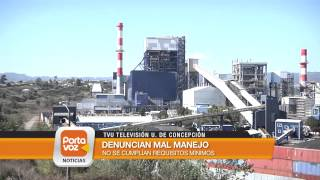 Internan a ex trabajador de Bocamina 1 por contaminación