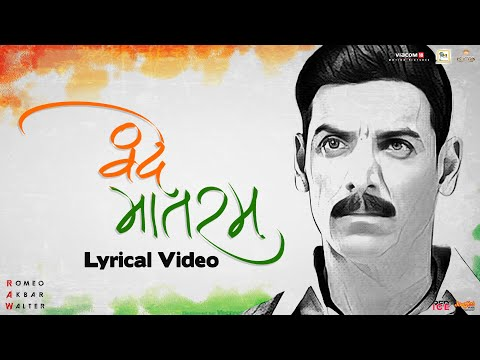 Vande Mataram | Lyrical Video | Sonu Nigam | RAW | John Abraham | Mouni Roy | Jackie Shroff
