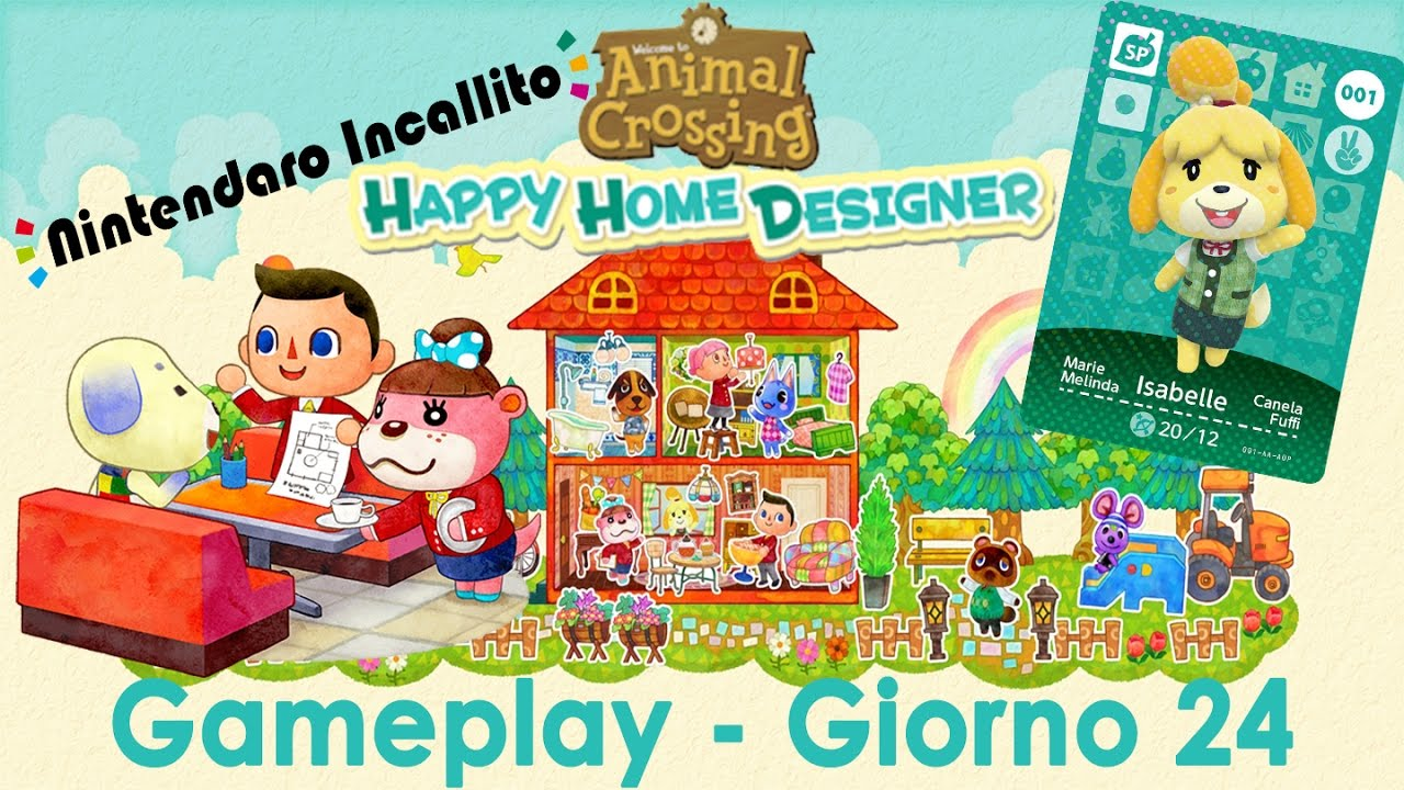 Gameplay Animal Crossing Happy Home Designer - Giorno 25 ...