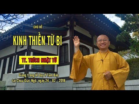 Kinh Thiền Từ Bi - TT. Thích Nhật Từ
