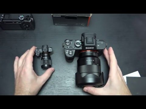 Sony A6300 vs Mini A7RII