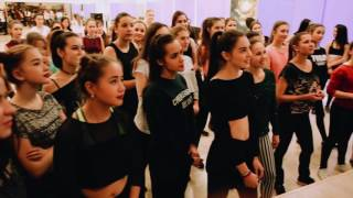 """Алёна Двойченкова в """"Space Dance"""" Мастер класс по Vogue"""