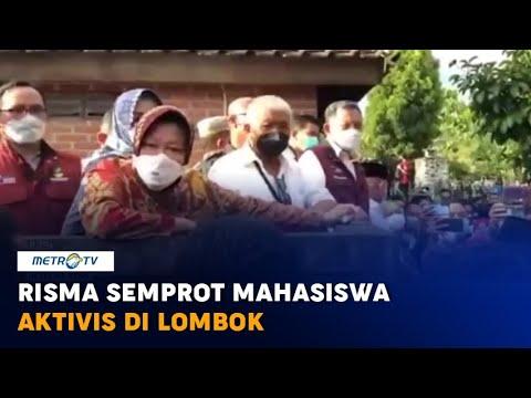 Risma Semprot Mahasiswa U0026 Aktivis Di Lombok