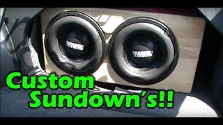 """2 - 12"""" Custom Sundown Zv3"""