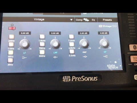 Vintage EQ | Presonus StudioLive 24 Series III