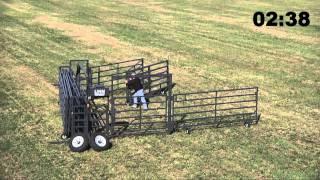 Wrangler Portable Corral Fold Up | Livestock Equipment