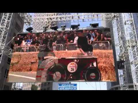 Bagavagabonds Rat Rod - Red Bull Soap Box Deby LA 2011