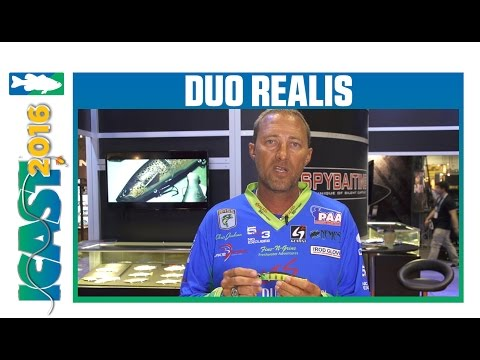 Duo Realis Jerkbait 120F With Chris Jackson | ICAST 2016