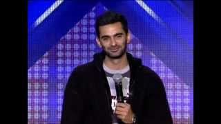 XFactor Arab 2013 - Mohamad Jaafil - The only talent that made all judges stand up for him.FLV