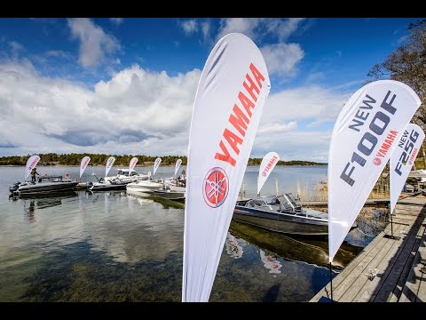 Press event Yamaha marine, May 11, 2017 Djuronaset, Sweden