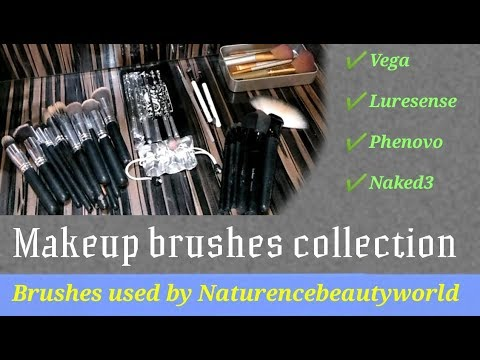 5 Makeup Brushes Sets Used By Naturence Beauty World In Hindi