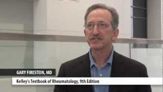 Dr. Gary Firestein, an Elsevier author, at ACR 2012
