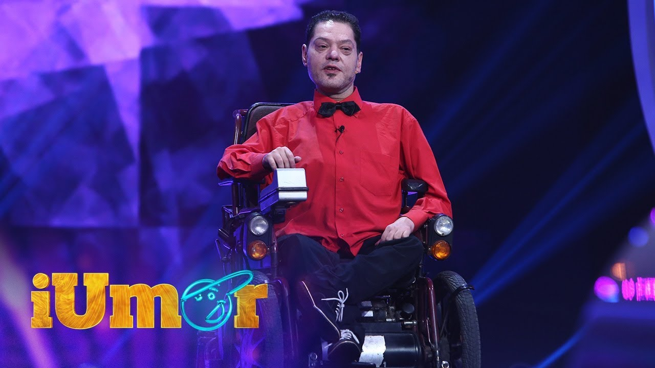 Vasi Borcan, prezență impresionantă la iUmor: Frizerul m-a făcut să semăn cu handicapatul ăla