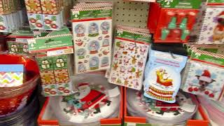 CHRISTMAS SHOP WITH ME AT DOLLAR TREE!!