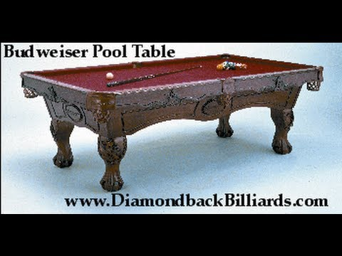 Budweiser Pool Tables By Olhausen Call  480-792-1115 For Pricing