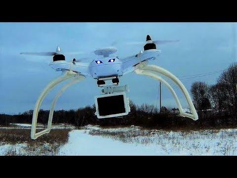 Aosenma CG035 GPS DRONE 10mph Wind Firefly 7S camera TEST FLIGHT