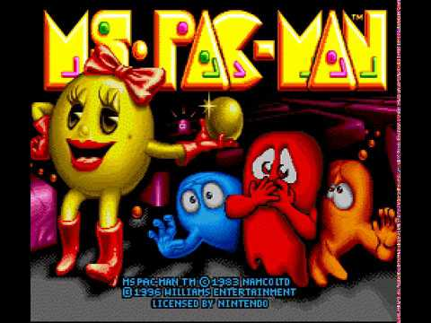 SNES Longplay [531] Ms. Pac-Man
