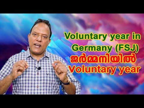 Voluntary Social Year in Germany ( FSJ) | ജർമ്മനിയിൽ voluntary Social Year- Jose Thottakara