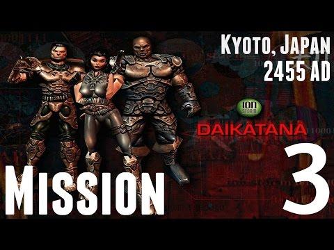 Daikatana - 1080p HD Walkthrough (Japan) Mission 3 - Solitary