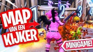SUPER MOOIE MAP VAN EEN KIJKER!! FORTNITE CREATIVE MINIGAME!