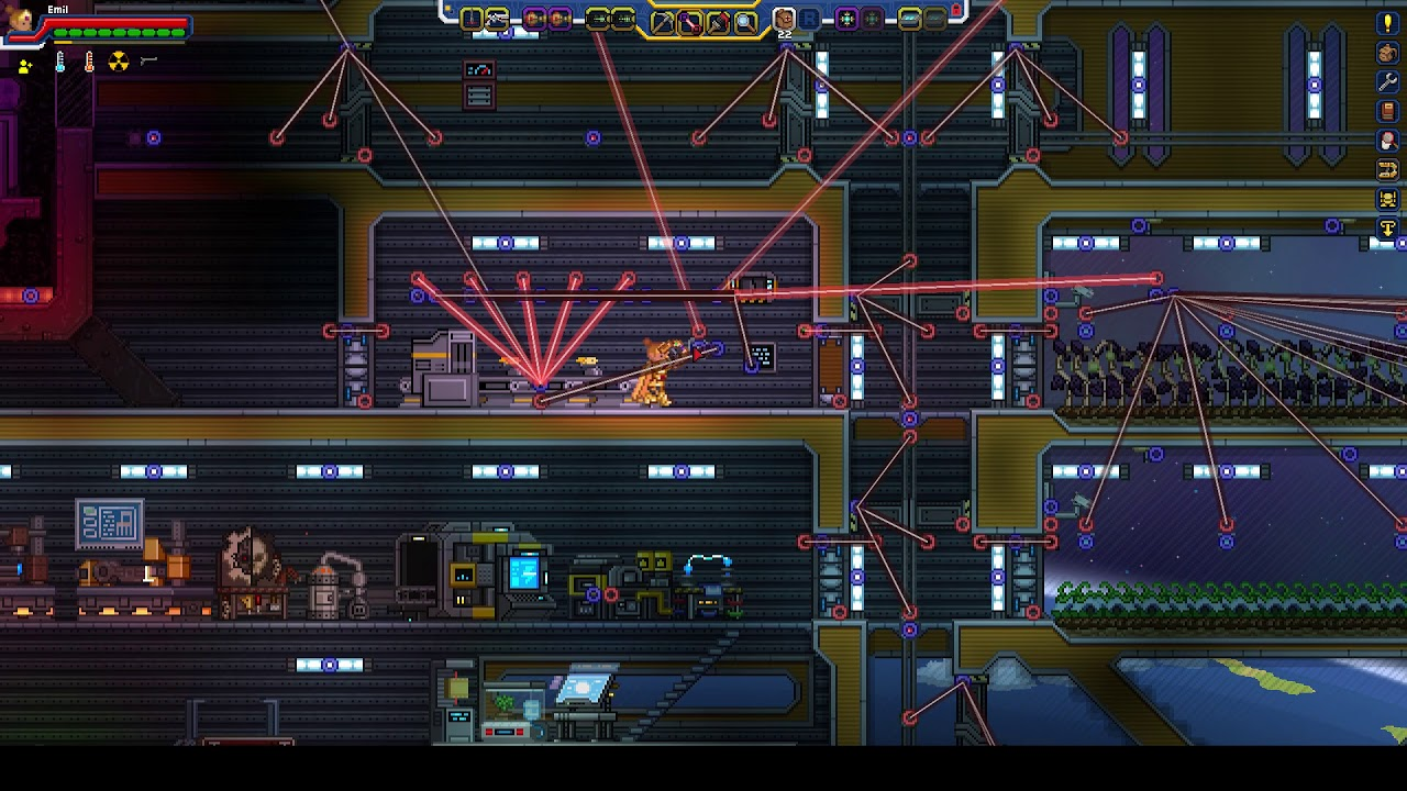 Starbound - Automated food manufacturing [Fracking universe]