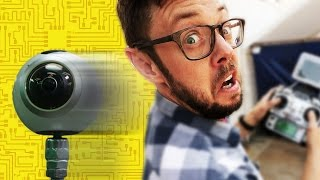 DIY Robot Camera Dolly for 360 video! - Erik Builds the Movies #3