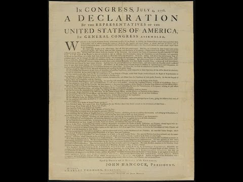 U.S. Government - The U.S. Declaration of Independence vs the Sedition Act of 1918