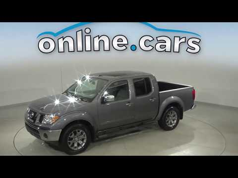 A16439TR Used 2019 Nissan Frontier Gray Test Drive, Review, For Sale