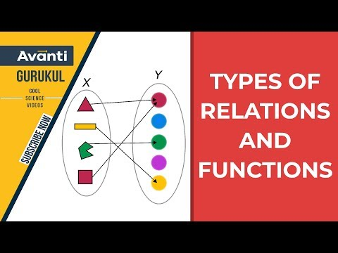 Relations, Types of Relations & Functions | Class 12 Maths