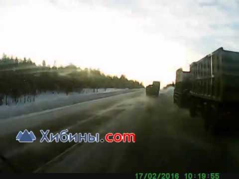 ДТП у Оленегорска на трассе