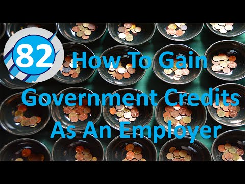 82: How To Gain Government Credits As An Employer (Mohammed