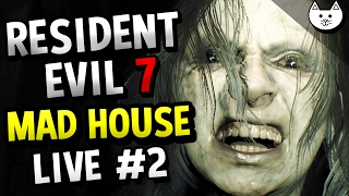Resident Evil 7 MAD HOUSE MODE RAGE LIVE - (Resident Evil Madhouse Mode Difficulty #2)