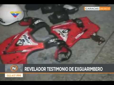 Sebin encuentra en Plaza Altamira escondites con escudos y explosivos de guarimberos