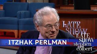 Itzhak Perlman Returns To Ed Sullivan Theater 60 Years Later