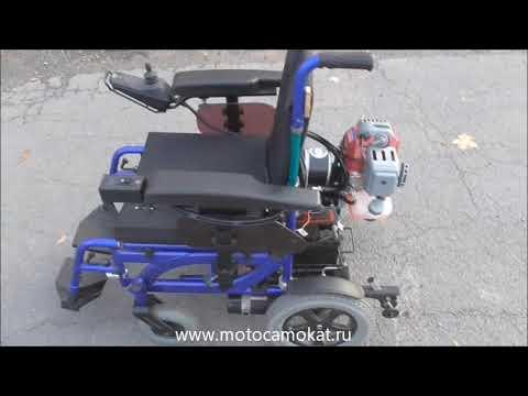 """Ходовой бензогенератор """"Скиф"""" для электрических инвалидных колясок ( Видеоинструкция )  2019"""