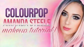 ★ ColourPop Amanda Steele Collab Makeup Tutorial | Victoria Lyn Beauty