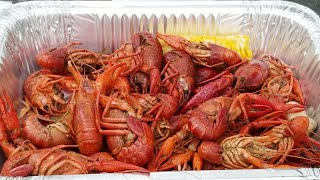 Louisiana Style 2018 Annual Crawfish Boil (crayfish) Family time outside Arcade Games!