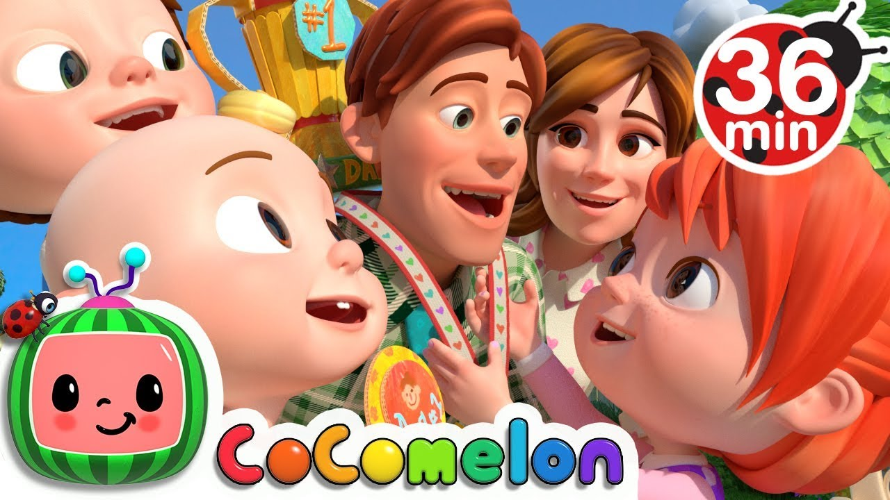 Download My Daddy Song + More Nursery Rhymes & Kids Songs - CoComelon