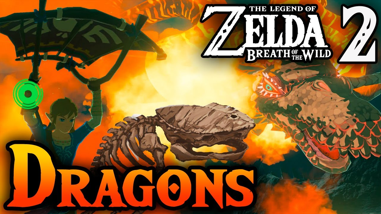 Dragons and Leviathans in Zelda Breath of the Wild 2