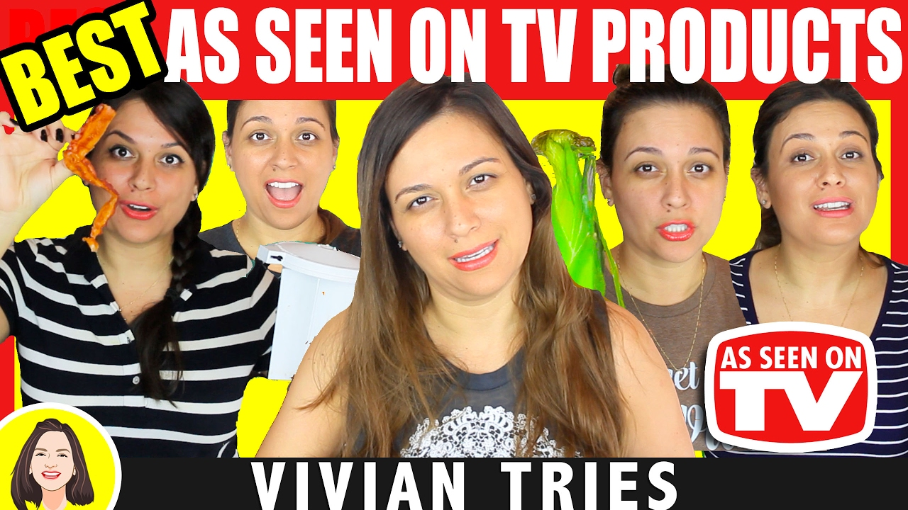best as seen on tv products review 2 vivian tries youtube. Black Bedroom Furniture Sets. Home Design Ideas