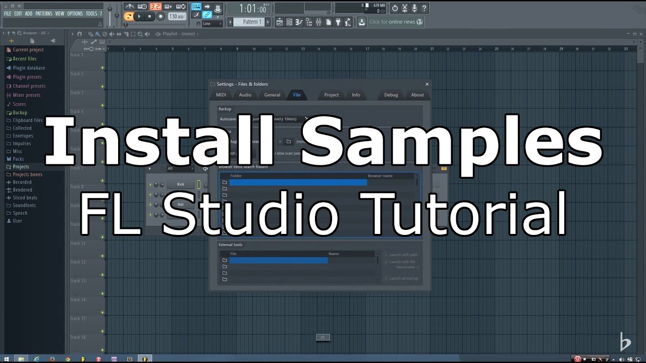 FL Studio 12 Tutorial: How to Install Sample Packs and Preset Packs