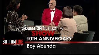 Boy Abunda shares what interview shows he is working on | The Bottomline