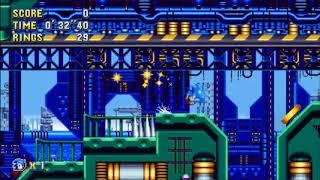 "Sonic Mania (PC) - Metallic Madness 1 Sonic: 52""23 (Speed Run)"