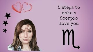 Man to Things scorpio to say a