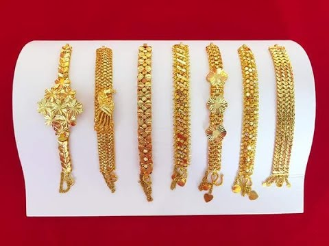New Gold Bracelet Diffe Designs Collection