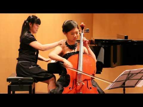 Benedetto Marcello Cello Sonata No 2 in e minor 黃晴鈺