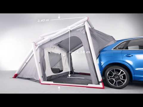 Model Audi Q3 Tent  YouTube